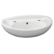 L34T4W/F - Tina Wall Basin 530 x 300 2TH