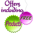 Offers including FREE Products