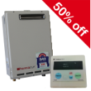 50% Off CONTINUOUS FLOW HOT WATER SYSTEMS