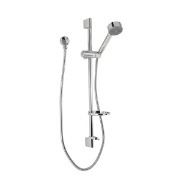 Deluxe Tower Shower Round CP WELS 3 Star 9L/min