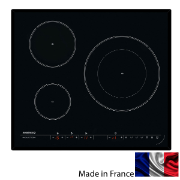 Rosieres 60cm Induction Cooktop 3 Zone 7200w