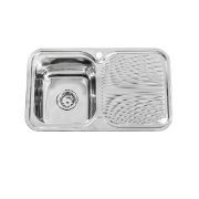 Hobart 780 Single Bowl LH 1TH - Sink .8mm