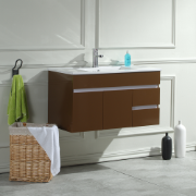 Sierra 900 Wall Hung Vanity Unit Mocha 1TH O/Flow