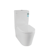 Arizona BTW Toilet Suite 002 inc SC seat 4.5/3 WH