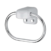 Towel Ring CP/WH