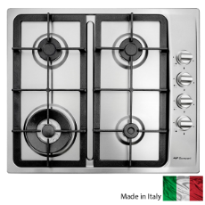 Bompani 60cm Gas Side Ctrl Cooktop Cast