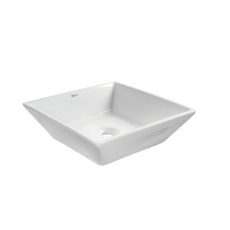 Modena Square Vessel Basin NTH - 405x405x120mm