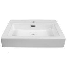 Mila Square Vessel Basin 1TH 490x450x120mm