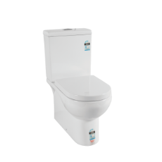 Idaho Toilet Suite BTW 4.5/3 - incl s/c seat & S pan conn