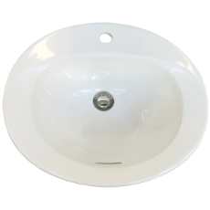 Casa Vanity Basin 1TH WH Incl bkts 508x432x229