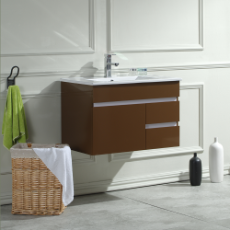 Sierra 750 Wall Hung Vanity Unit Mocha 1TH O/Flow