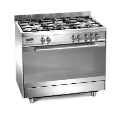 Gas/Gas 90cm Upright Cooker - Gas Cooktop/Gas Oven