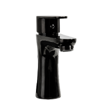 Lido Basin Mixer 32mm Black CP WELS 11B-101 5 Star 6L/min
