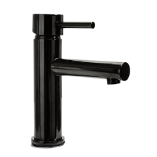 Stella Basin Mixer 35mm 6228 Black CP WELS 5 Star 6L/min