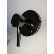 Stella Shower/ Bath Wall Mixer 35mm 6237 Black Chrome