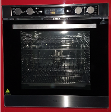 8 Function Elec Oven 60cm  Pyrolitic LCD Display