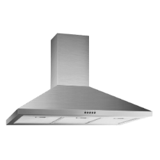 AstiVita 90cm Canopy SS Flue suits ceilings to 2880mm