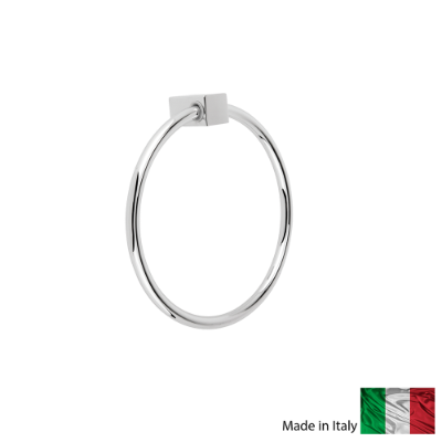 Square Towel Ring CP