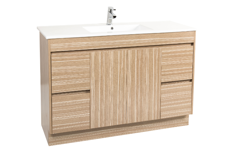 mdf kitchen cabinets astivita limited lima 1200 vanity unit light timbergrain 4045